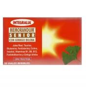 Memorandum Senior c/ Ginkgo Biloba 20 ampolas