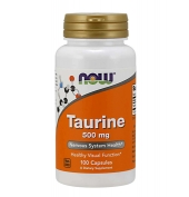 Taurine 500mg 100 caps